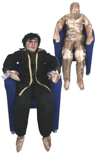 Deko-Figur: lebensgroße Puppe, Textil, befüllbar