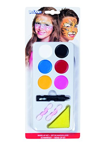 Löwe Kostüm Kinderschminken - Boland Schminkset für Jungen und Mädchen, 2er Pack (2 x 10 Stück)