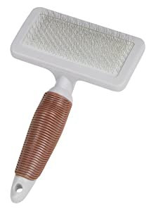 Nobby Starline Professional Grooming Range Slicker Brush with Cleaning Comb for Dog/ Cat