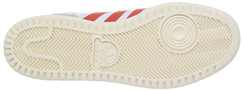 Adidas Originals Pro Play 2.0, Chaussures de Basketball Homme Blanc (ftwr White/red/core Black)