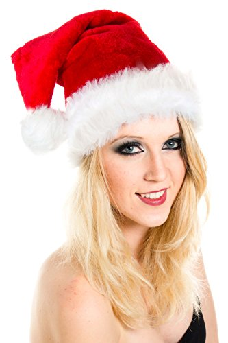 Ca 30 Modelle Weihnachtsmütze Nikolaus Mütze Weihnachtsmützen Xmas Mützen (Rot...