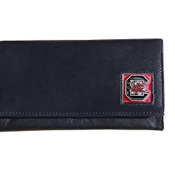 South Carolina Gamecocks Women's Leather Wallet