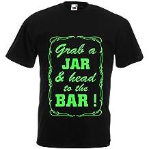N4524 Camiseta Grab a Jar and & head to the Bar!