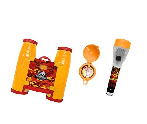 Jurassic World 75450 Adventureset 3 teilig-Fernglas, Kompass und Taschenlampe auf Blisterk Preisvergleich