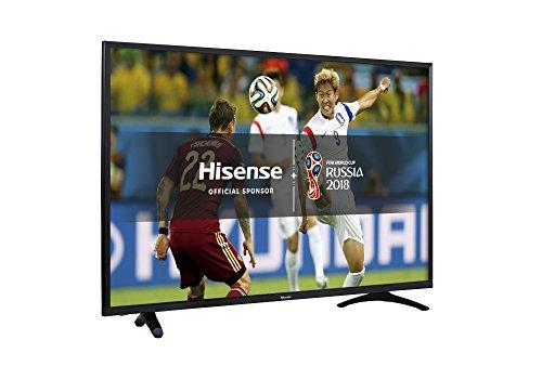 Hisense H49N5500UK 49inch 4K UHD Smart TV - Black - (2017 Model)