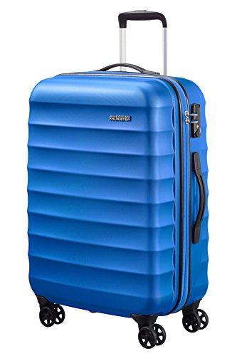 American Tourister Palm Valley Spinner 67/24, Valigia, Litri 60.8, Cool Blue