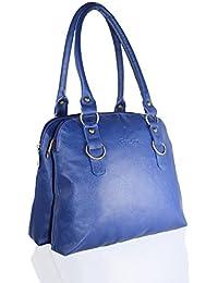 Fargo Joint PU Leather Women's & Girl's Shoulder Handbag (Blue_FGO-033)