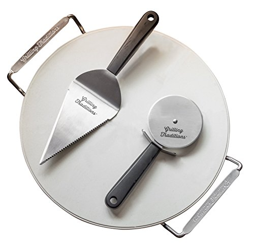 Grillen Traditions 4-teiliges Pizza-Set