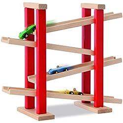 Heros 100027332 - Pista in legno per macchinine