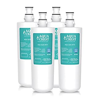 4 X AquaCrest AQU-3US-AF01 Filter Replacement for InSinkErator F701R 3M AP3-765S Hot Water Tap