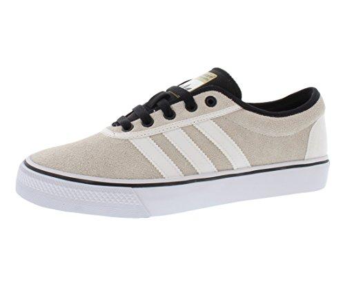 Adidas Adiease Ii Skateboard-Schuh-Grö�e US 9.5, regelmä�ige Breite, Farbe Creme / wei� / schwa White