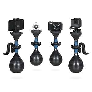 Steadycam solidLUUV | Schwebestativ für professionelle und wackelfreie Videos, Kamerastabilisierungssystem kompatibel mit Action-Kameras, Smartphones, Kompaktkameras sowie 360-Grad Kameras