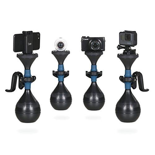 Steadycam solidLUUV | Schwebestativ für professionelle und wackelfreie Videos, Kamerastabilisierungssystem kompatibel mit Action-Kameras, Smartphones, Kompaktkameras sowie 360-Grad Kameras (Cam Pro Go Steady)