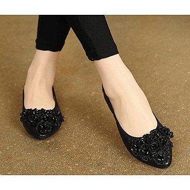 Wuyulunbi @ Chaussures Pour Femmes Pu Printemps Automne Comfort Flats Pour Casual Argent Or Noir Us8 / Eu39 / Uk6 / Cn39