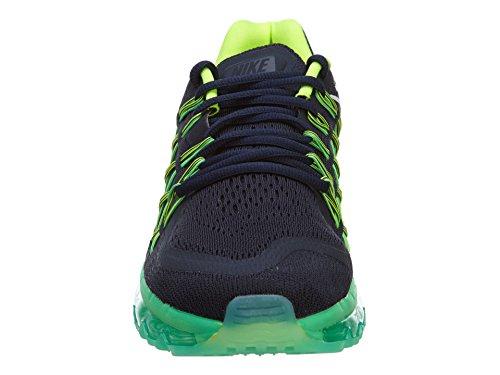 Nike Air Max 2015 Running Damen Schwarz Grün F401 Schwarz