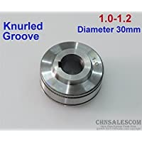 CHNsalescom Wire Feed Roller Knurled Groove 1.0-1.2 MUREX, ESAB, TECARC, PORTAMIG