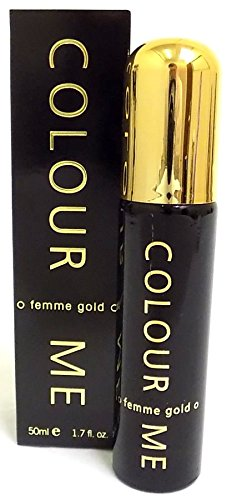 Lot de 4 Couleur Me or Femme 50 ml PDT