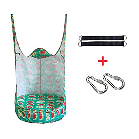 Eggdel Water Proof Frog Folding Hanging Pod Swing Seat Indoor and Outdoor Hammock for Children to Adult -