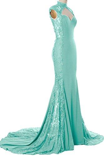 MACloth - Robe - Moulante - Femme Vert - Menthe