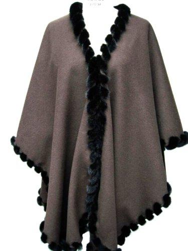 brown-loro-piana-17-ounce-100-cashmere-cape-w-black-mink-whipstitch