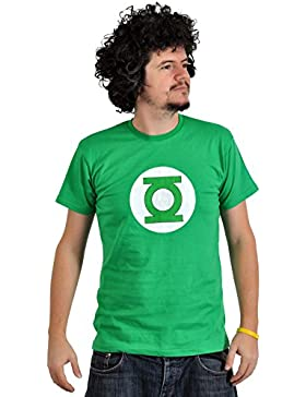 Linterna Verde - camiseta del escudo - al estilo de Sheldon