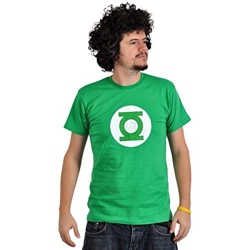 SD toys - T-Shirt Tube Green Lantern Logo Taille M - 8436546891505