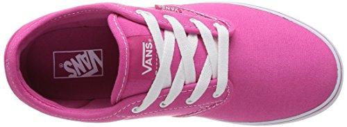 Vans Z Atwood, Baskets mode filles Rose (Magenta/White)