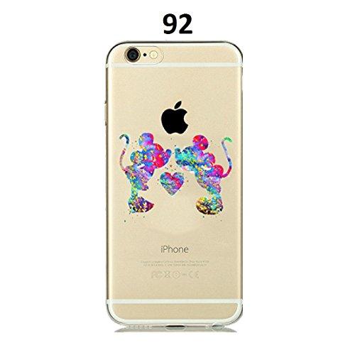 Shoptronics24 Handy Hülle Huawei P20 Lite Case Disney Motiv Schale Smartphone Cover Schutz Etui Tasche Comic (92) -
