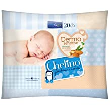 Toallitas Dermo Sensitive Chelino Easy & Go (20 ...