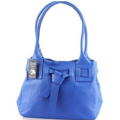 OLIVIA , Damen Henkeltasche Marineblau 1 blau