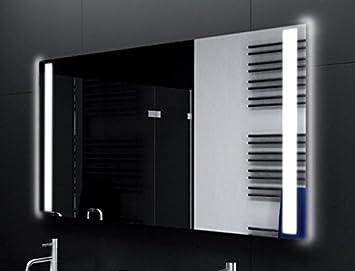 Badezimmerspiegel Beleuchtet badspiegel designo ma2110 mit a led beleuchtung b 80 cm x h