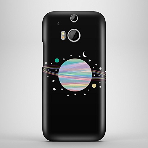 IQCases Space Exploration Snap-on Harte zurück Fall Phone Cover für Microsoft Mobile Phones für HTC One M8 (Htc M8 Harten Fall)