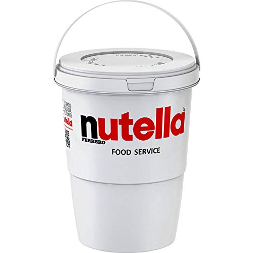 Nutella Chocolate Hazelnut Spread Catering Bucket - 1x1.35kg