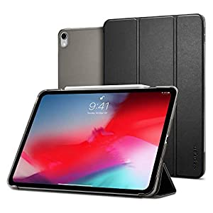 Spigen Smart Fold (Version 2) Designed for Apple iPad Pro 12.9 Case (2018) - Black
