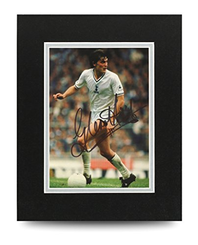 Glenn-Hoddle-Signed-10×8-Photo-Display-Tottenham-Autograph-Memorabilia-COA