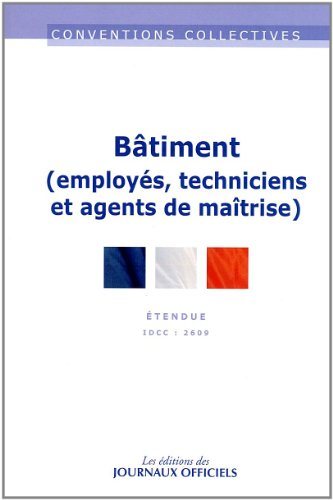 Batiment Etam - Convention collective 19ème édition - Brochure n°3002 - IDCC 2609 par Journaux officiels