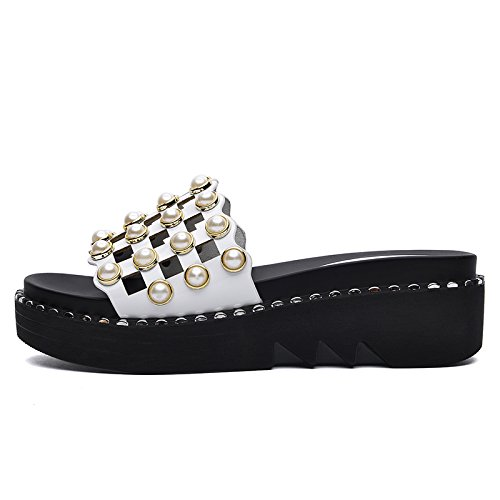 ZPPZZP Ms sandali pantofole estate stile Coreano selvatici spessa 35EU