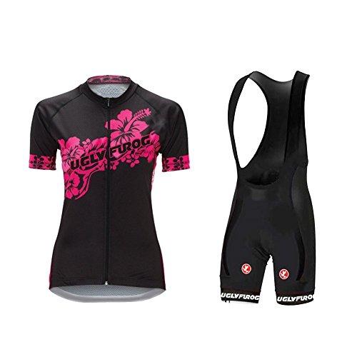 Uglyfrog 2017Nuevo verano mujeres camisetas de manga corta ciclismo Ropa de bicicleta de carretera hb08