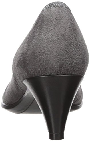 ECCO Shape 45 Pointy Sleek, Scarpe con Tacco Donna Grigio (Titanium/black)