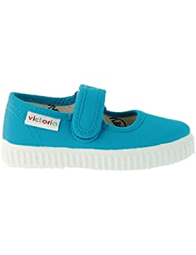 Zapatillas Victoria 06611 - Merceditas de Velcro Merlot ni?as