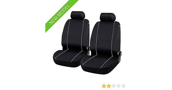 con Fori per i poggiatesta e bracciolo Laterale compatibili con sedili con airbag III 1996-2006 Coprisedili Anteriori L200 Versione