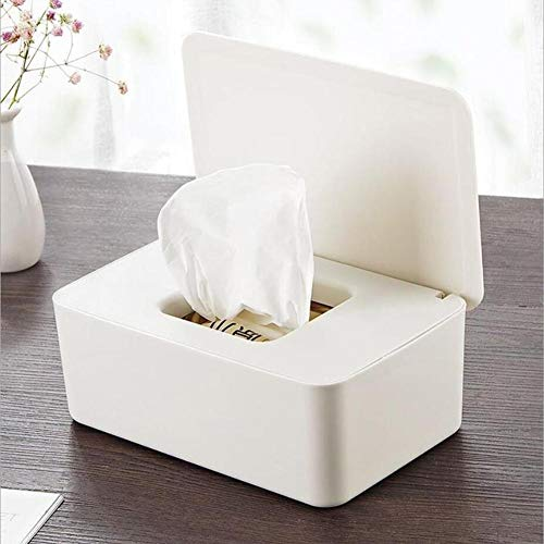favourall Feuchttüchter Aufbewahrungsbox, 19x12x7cm Baby Pflegetücher-Boxen, Feuchttüchter Aufbewahrungsbox Mit Deckel Für Home Office Outstanding