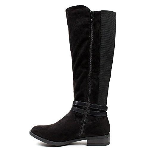 Ideal Shoes ,  Stivali donna Nero