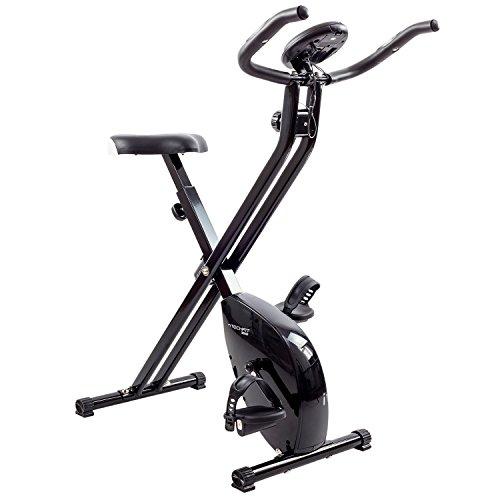 Techfit XB200 F-Bike, 2,5 kg Schwungrad, Magnetisches Heimtrainer, Einziehbares Trainingsrad, Erholungsrad, Cardio-Maschine (Schwungrad Heimtrainer)