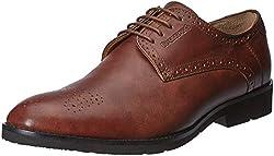 Blackberrys Mens Cooper Tan Leather Formal Shoes - 7 UK/India (41 EU)
