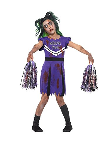 SMIFFY 'S UK Dark Cheerleader Mädchen Fancy Kleid -