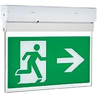 hispec LED 3W uscita di emergenza segno luce freccia destra o sinistra non o manutenzione