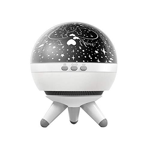 Nachtlicht Sternenhimmel, Coopay 360 Grad Drehung LED Nachttischlampe Sternenlicht Projektor Lampe USB Kabel Nachtlicht Farbwechsel Kinderzimmer Schlafzimmer Haus Dekoration für Kinder Baby Erwachsene, Liebhaber