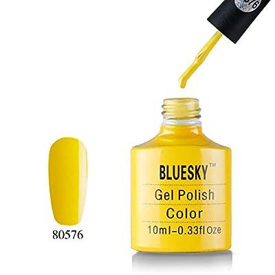Bluesky 80519 UV/LED Curing Gel Nail Polish, Hot Pop Pink