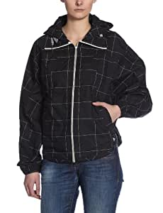 adidas damen regenjacke hooded zip black 38 v32434 sport freizeit. Black Bedroom Furniture Sets. Home Design Ideas